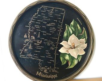 vintage Mississippi souvenir tray