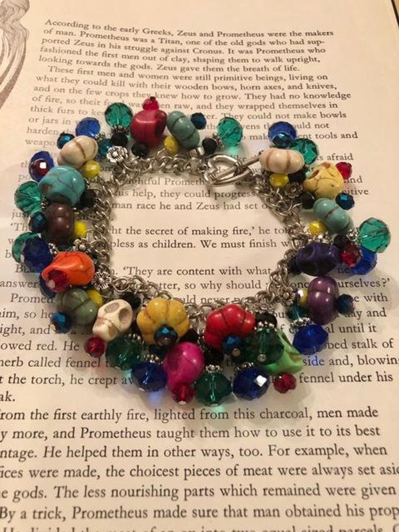 Day of the Dead Vibrant Bracelet