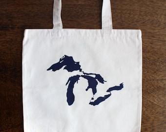 Great Lakes Michigan Tote