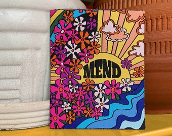 Mend - Woven Iron-on Patch
