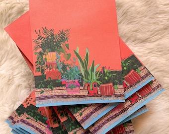 Houseplant Notepad