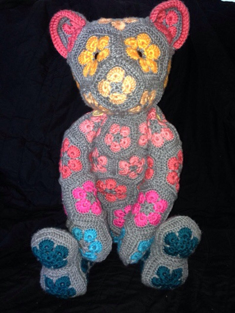 Knitted Teddy Bear [FREE Knitting Pattern] | Teddy bear knitting ... | 1059x794