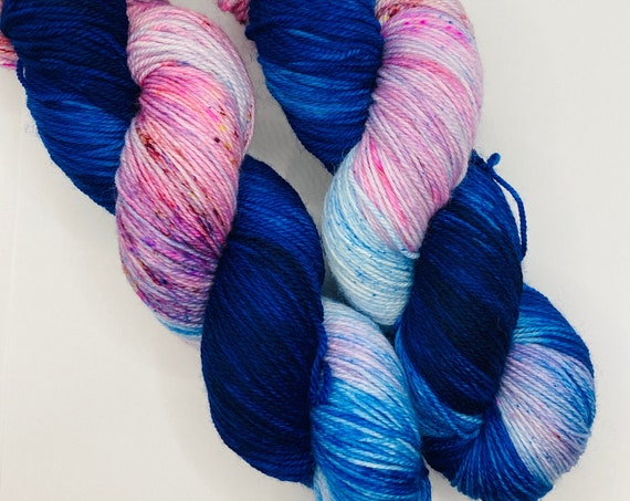 Dr. Crusher | Star Trek: The Next Generation | Hand Dyed Yarn | Speckled Yarn | Sock Yarn | Superwash Yarn