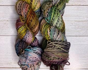 Hand Dyed Yarn |  Sock Yarn | Zebra Yarn | Superwash Yarn | Traffic Jam | Fingering weight yarn | Merino Wool Yarn | Nylon Yarn
