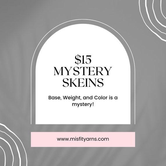 Mystery Skeins! Mystery yarn. Sock Yarn. Sport Weight. Superwash Yarn.