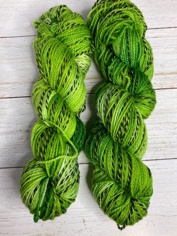 Hand Dyed Yarn |  Sock Yarn | Zebra Yarn | Superwash Yarn | Shakin' Shamrock | Fingering weight yarn | Merino Wool Yarn | Nylon Yarn