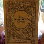 THE HEDGEWITCH HERBAL Booklet Hedge Witch medicinal and magickal herb uses