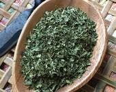 LEMON BALM organic leaf herb cut and sifted One Ounce 28g tea spice culinary herbal