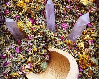 YONI STEAM Organic Blend 1 oz Vaginal Steaming all purpose blend herbs