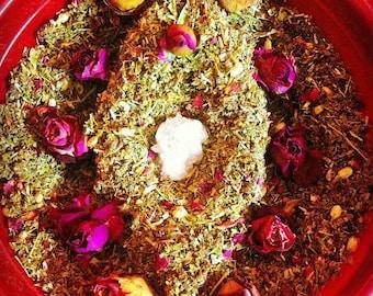 YONI STEAM Organic Herbs Blend 3 oz bulk package vaginal steaming herbs