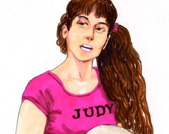 "Judy from Sleepaway Camp 5"" x 7"" Print"