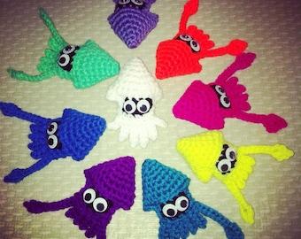 PDF Pattern Crochet Squid