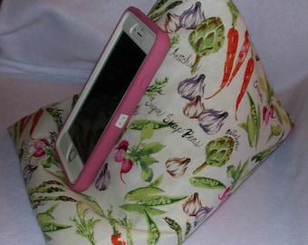Veggies Gadget Beanbag for your Phone, Tablet, eReader