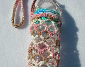 Neapolitan Crochet Water Bottle Carrier