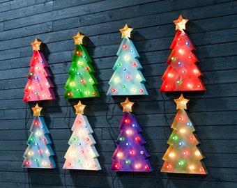 CHRISTMAS TREE MARQUEE