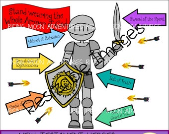 Armor Of God Clipart Etsy