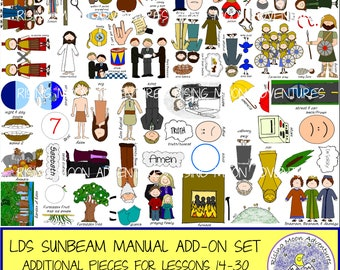 LDS Sunbeam Manual Addition Set 2 DOWNLOAD for Sunbeam Manual Lessons 14-30