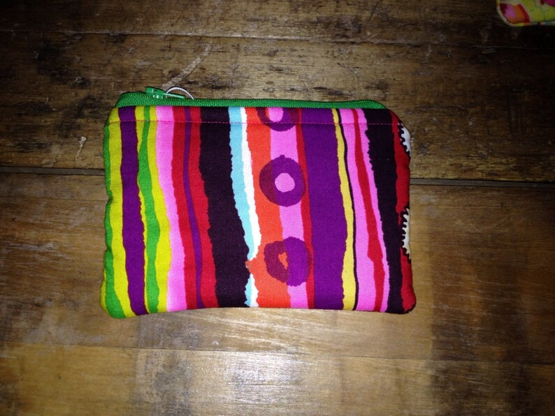 Fabric Zippered Pouch image 0