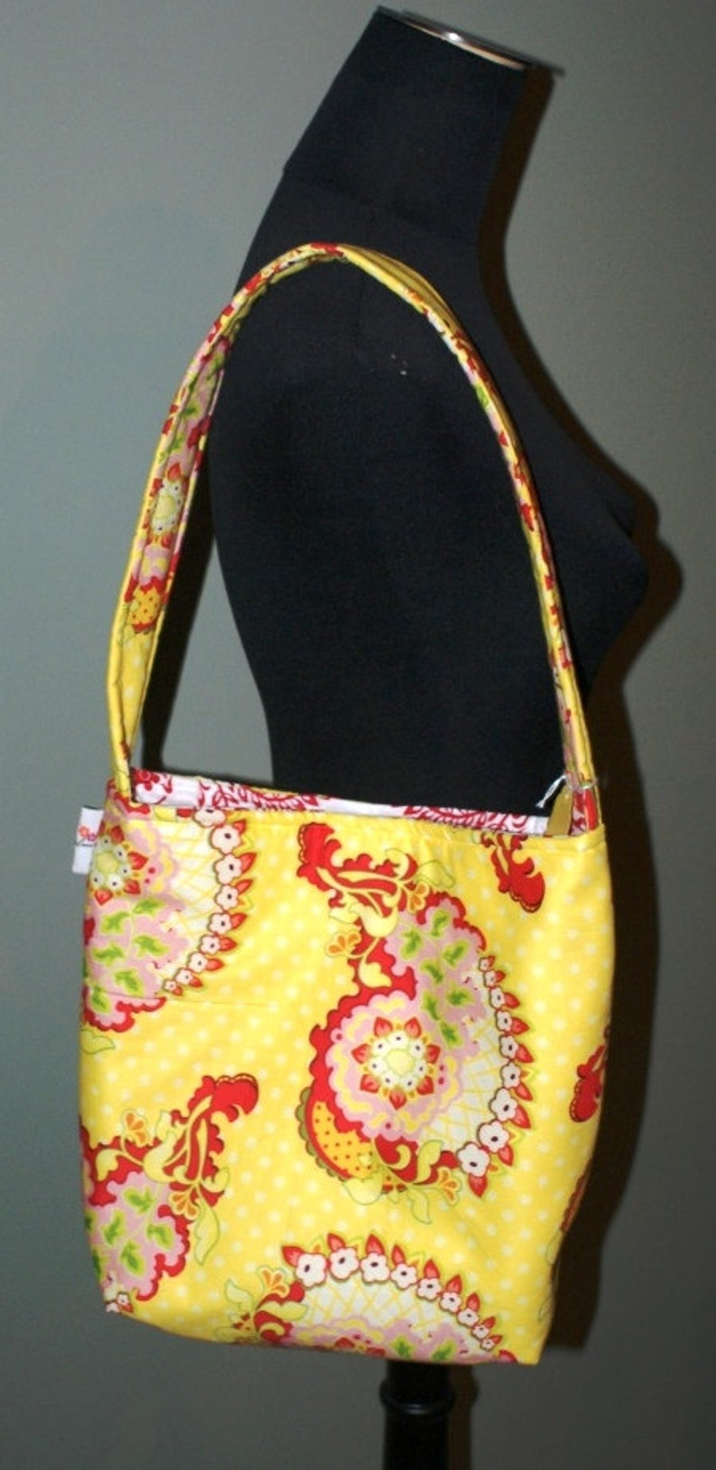SALE Island Girl Bags Slouch Bag in Heather Bailey image 0