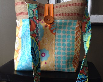 Custom Order Island Girl Bags Crossbody Patchwork Bag