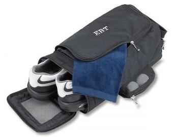 905aedad7a67 Monogram Black Golf Shoe or Bowling Shoe Bag