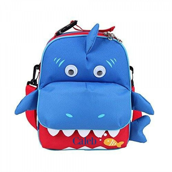 NEW ~ Shark and Butterfly Preschool backpack ~ Little backpack ~ Monogrammed Back to School