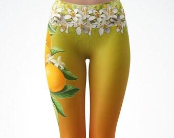 Orange Blossom Leggings
