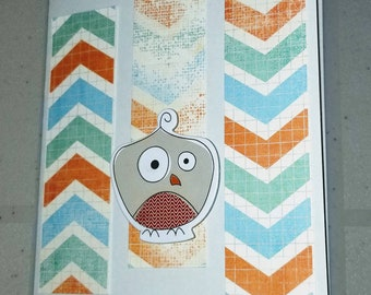 Blank Notecard  / Fun Goofy / All Occasion handmade card