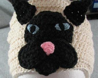 Siamese Cat - Hat Crochet Pattern -Men's Hat - Women's Hat - Crochet Animal Hat - Animal Pattern - PDF - Digital Download
