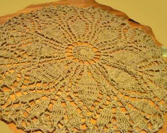 Circle Leaf Rug