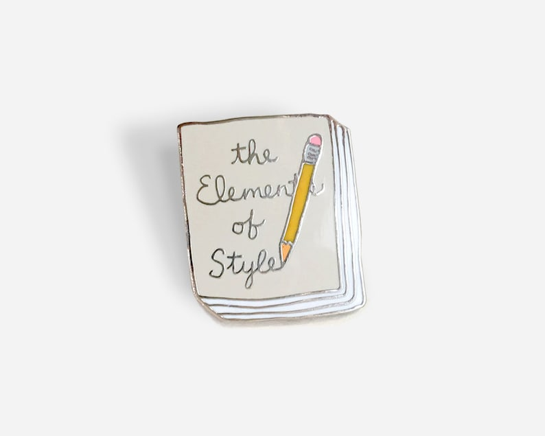 Book Pin: The Elements of Style image 0