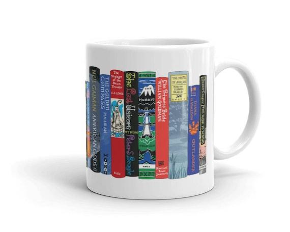 Ideal Bookshelf Mug Fantasy