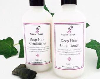 Conditionneur de cheveux profond 8 oz de sélectionner votre propre parfum