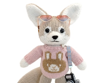 Fennec Fox Knitting Pattern