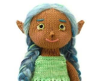 Mermaid with Peplum Top Knitting Pattern