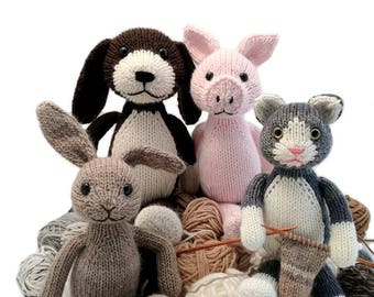 Scraps Chaps Knitting Pattern