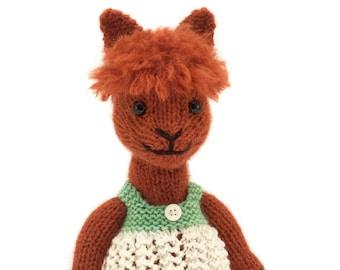 Alpaca Knitting Pattern