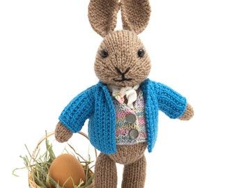 Well-dressed Bunny Knitting Pattern