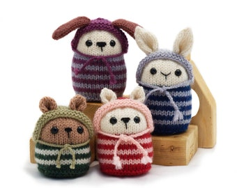 Pookies Bean-Bag Animals knitting pattern