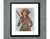 Sharpshooter Art Print