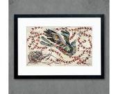 Mockingbird Print on Paper