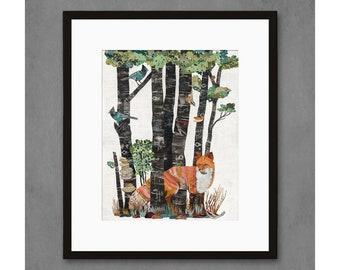 High Country Summer - Fox Art Print