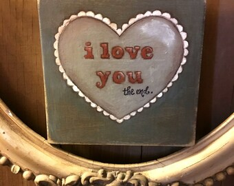 Words on Wood by Diane Duda - Hand painted wood signs - True Story - Free U.S. shipping
