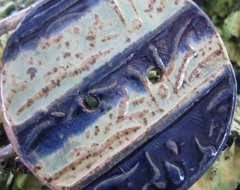 Big Button from our Natural Inspiration Pottery Collection by SweetpeaCottage