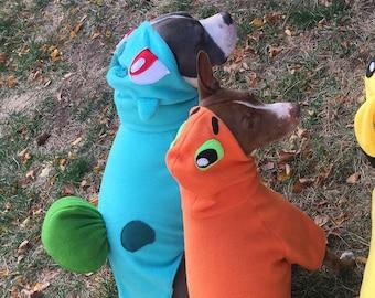 Bulbasaur from Pokemon Pet Dog costumes sizes XS to XL & Bulbasaur costume | Etsy