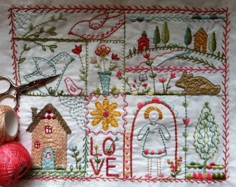 cedar ridge stitching embroidery sampler