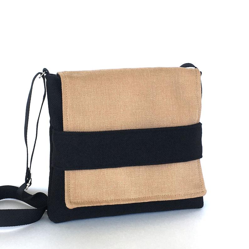 Small messenger bag Black messenger bag Small crossbody bag  b0508041f94bf