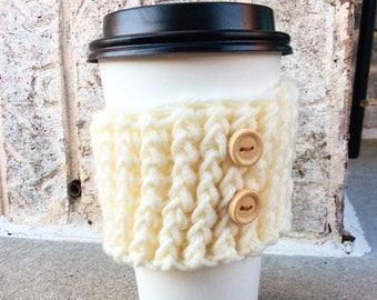 Hülle Kaffee, Tee gemütlich, Starbucks wiederverwendbare Hülle Kaffee, Kaffee gemütlich, Faux stricken, häkeln gemütlich, wählen Sie Ihre Farbe