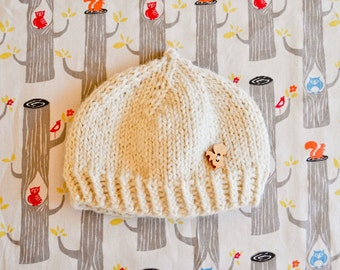 Little Nutbrown Baby Hat