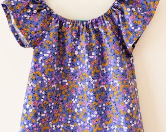 12 months - Blossom Breeze Peasant Dress